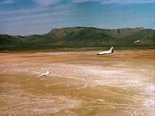 space shuttle landing white sands new mexico - photo #16