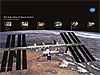 The front of the International Space Station poster