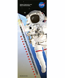 The Spacesuits Bookmark