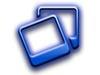 Blue image frames