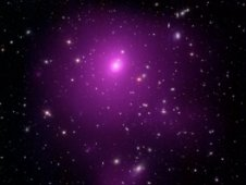 Composite image of the galaxy cluster Abell 85