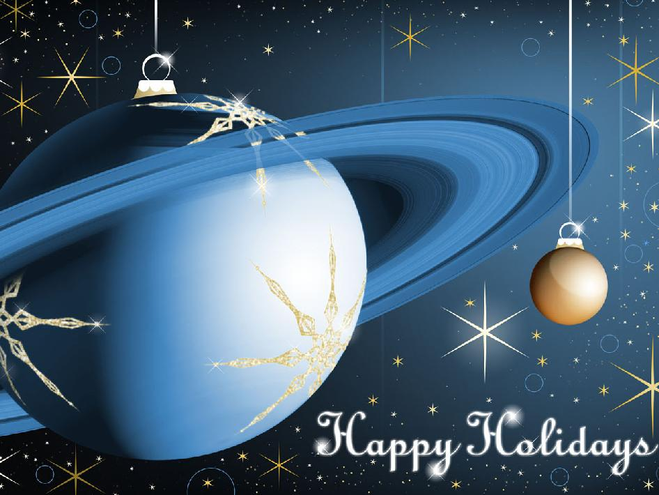 Happy Holidays From the Cassini Team