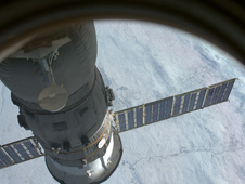 ISS018-E-014004 -- The Soyuz TMA 13