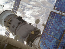 ISS018-E-014423 -- The Soyuz TMA 13