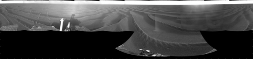 Opportunity's Surroundings on Sol 1687
