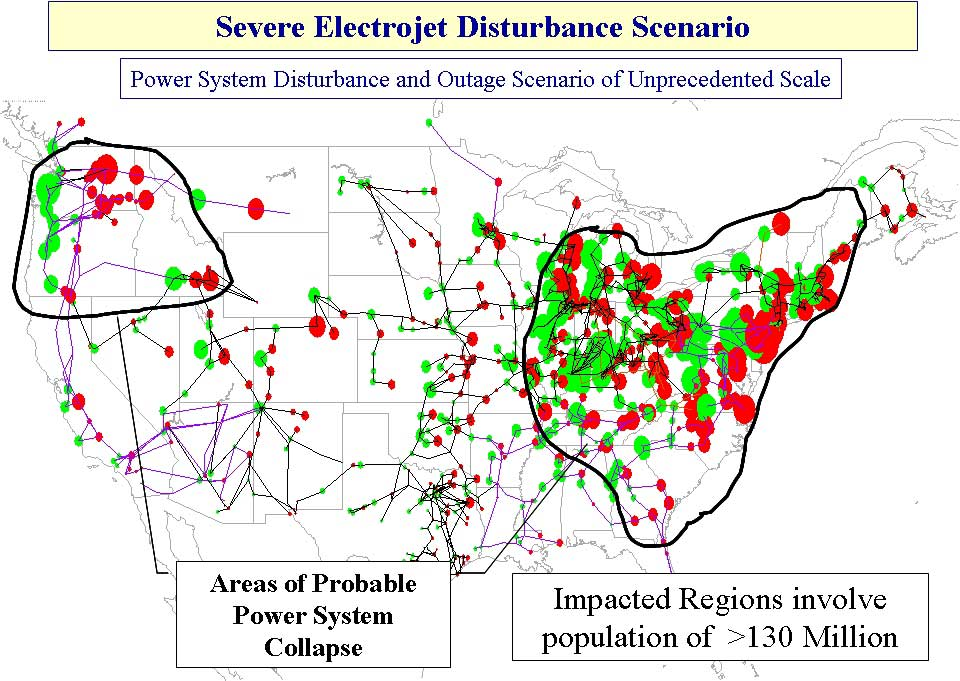 Map us electric grid