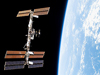 S120-E-009759 -- The International Space Station