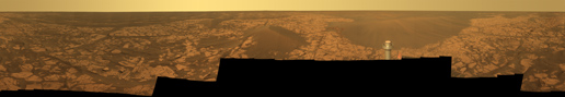 Full-Circle 'Santorini' Panorama from Opportunity