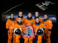 STS-119 crew formal portrait