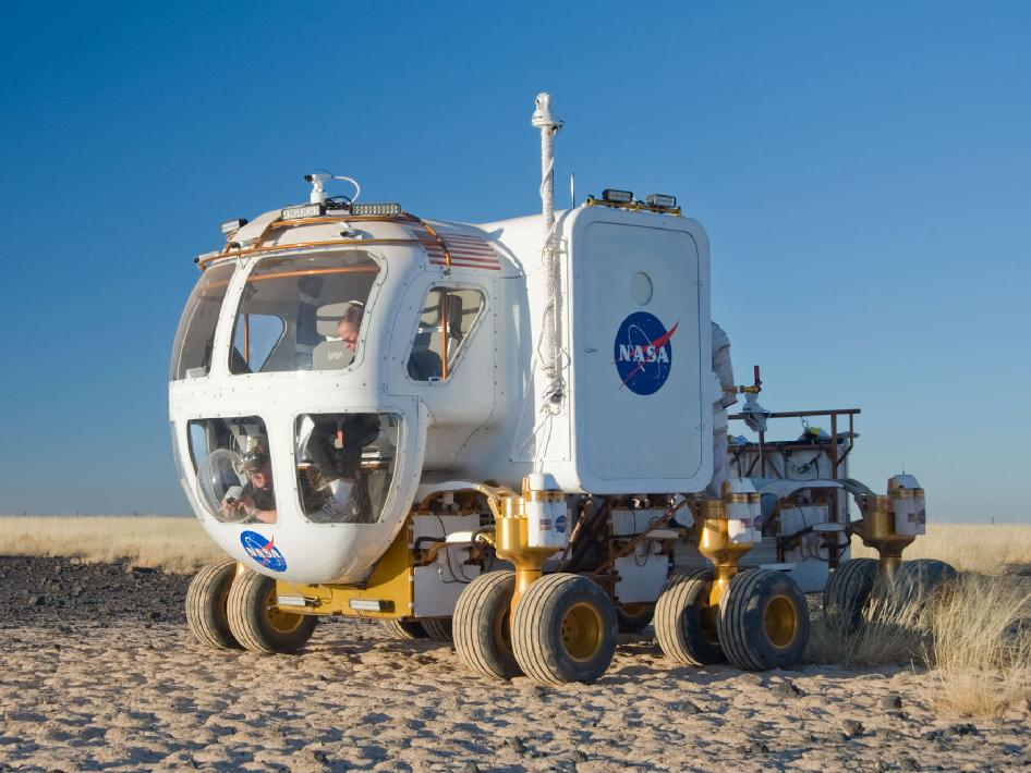 NASA's Lunar Electric Rover Concept Vehicle