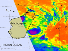 satellite image of Eric
