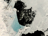 satellite image of Antarctic sea ice