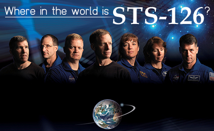 Where in the World is STS-126?