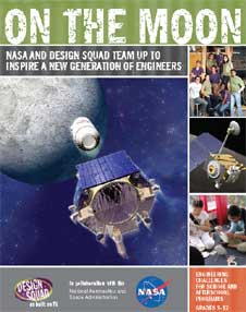 Cover of the On the Moon Educator Guide