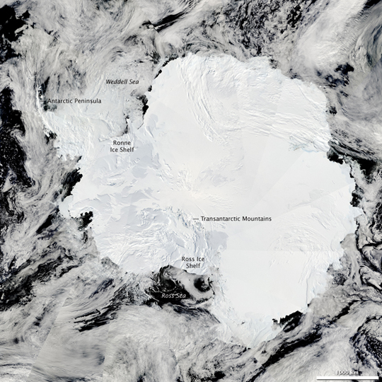 composite image of Antarctica