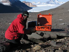 Expedition member Doug Ming