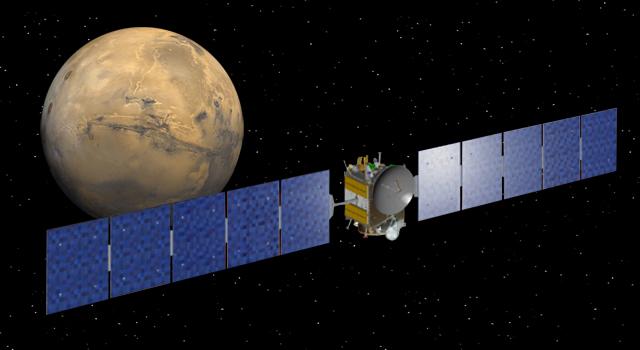 NASA - NASA Spacecraft Falling For Mars