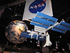 NASA Exhibit at AARP 2008.