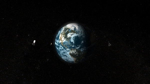 GOES-O and NOAA-N Prime in orbit