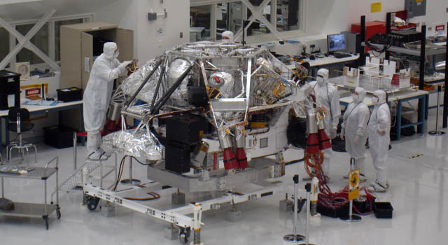 Nasa Readying For Mars Live Clean Room Cam And Chat