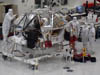 Mars Science Lab in JPL clean room