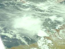AIRS image of tropical system 95S