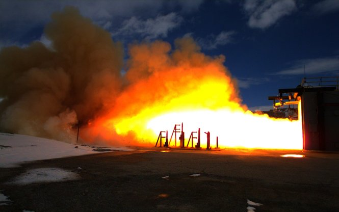 Ares I First Stage Igniter Test