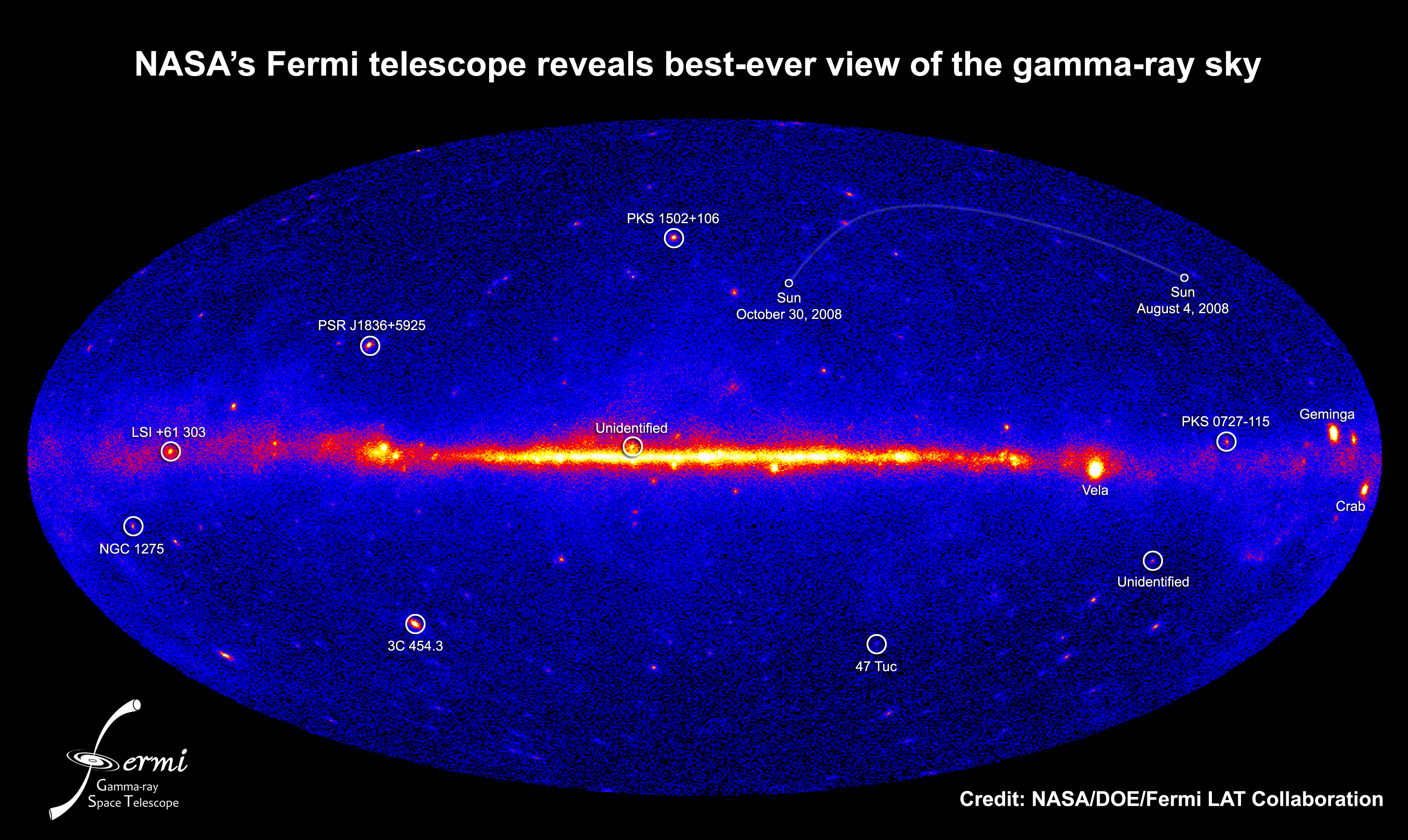NASA - Fermi's Best-Ever Look at the Gamma-Ray Sky