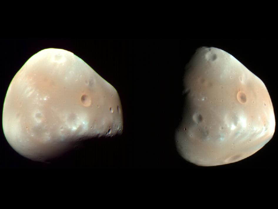 the mars moons color - photo #6