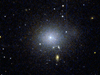 HST image of a Perseus Cluster dwarf galaxy