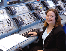 Anna Heiney, STS-119 Launch Blogger
