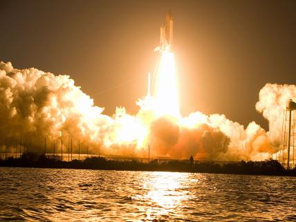 Launch of the Discovery Shuttle