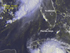 Tropical Storm Bonnie & Hurricane Charley taken from GOES-12
