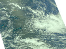 AIRS image of Tropical Storm Ken