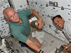 STS-119 Mission Specialists John Phillips and Joseph Acaba