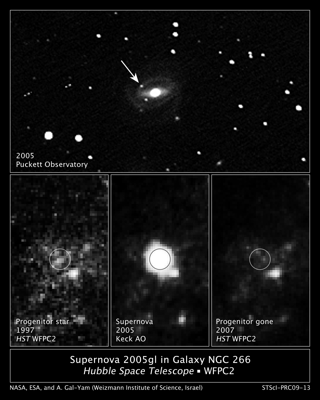 NASA - Hubble Finds Rare Progenitor to a Supernova