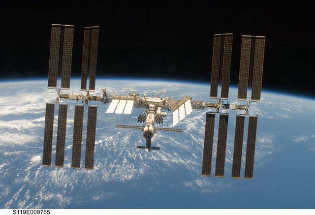 ISS (c) NASA