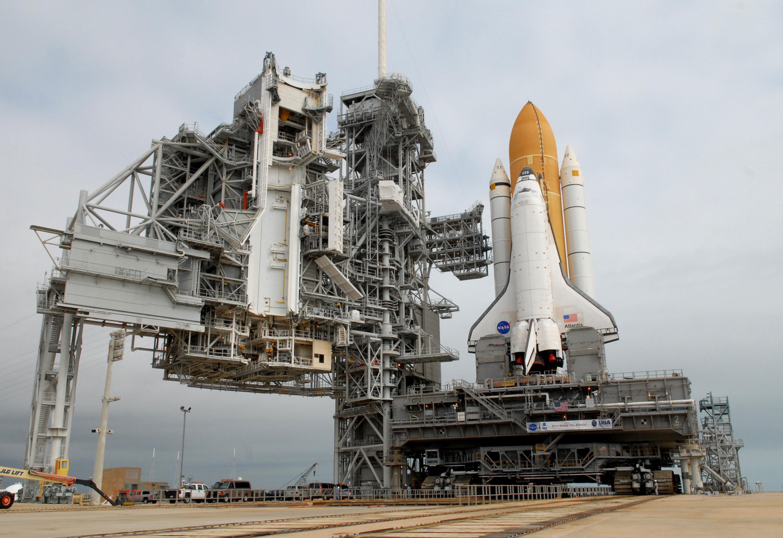 NASA - Atlantis on the Launch Pad