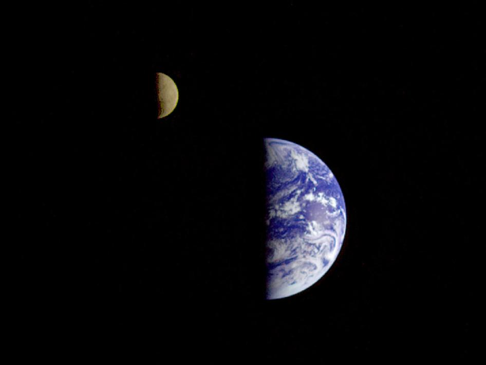 NASA - Earth and Moon