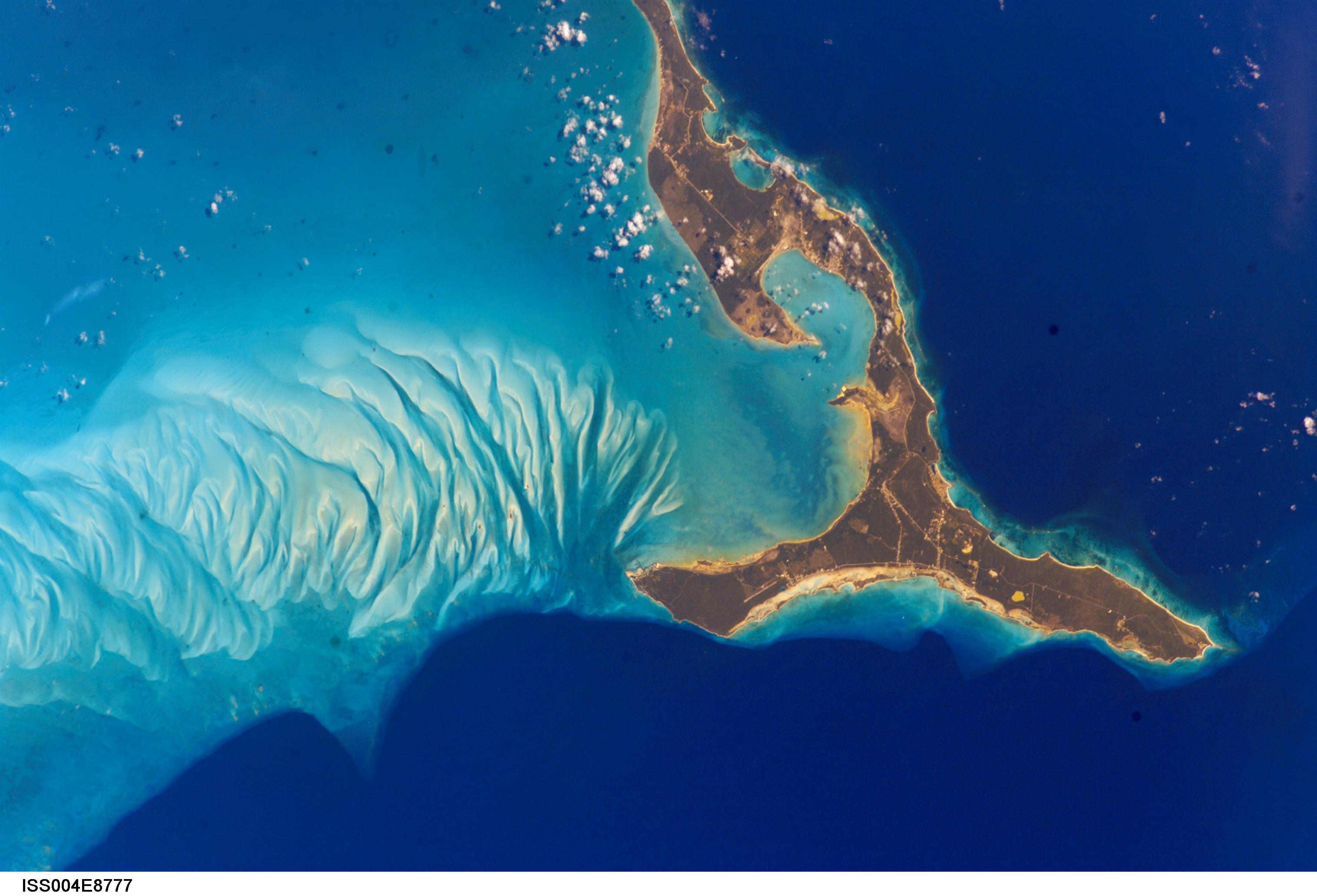 GeoGarage blog: Image of the week : the Eleuthera Island ...