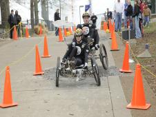 NASA 2009 Great Moonbuggy Race team photo