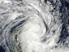 MODIS image of Tropical Cyclone Jade