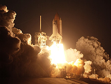 Discovery launch on mission STS-119