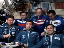 Expedition 18 and 19 crew members