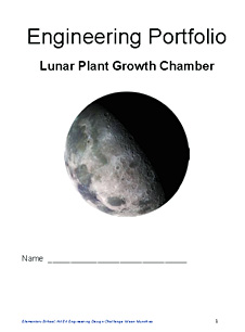 A page from Designing and Building the Lunar Plant Growth Chamber