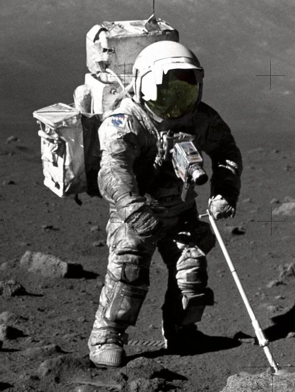 NASA - LRO to Help Astronauts Survive in Infinity