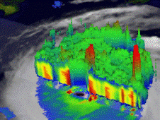TRMM view of Hurricane Katrina