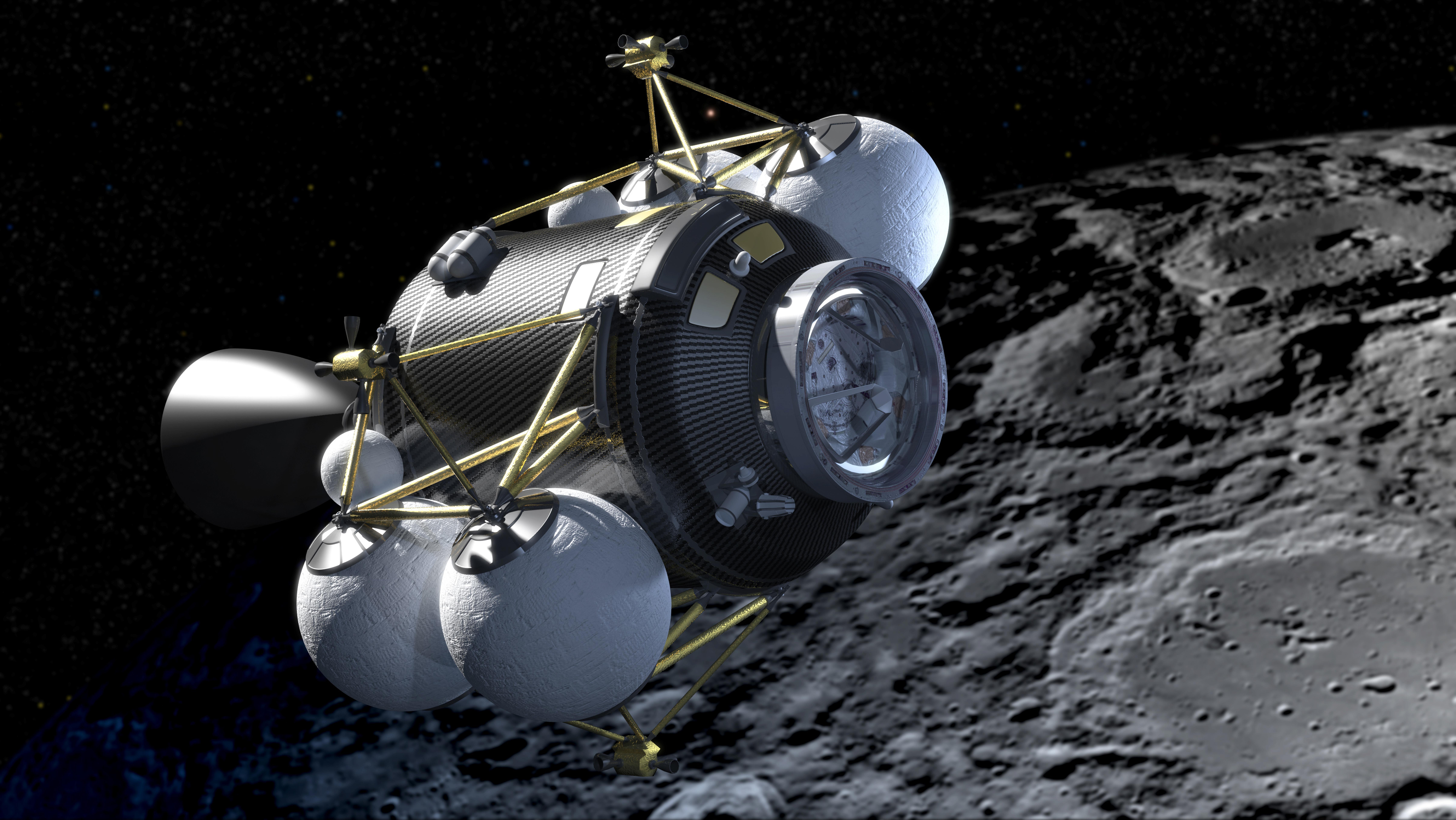 lunar landing spacecraft - photo #29