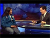 Astronaut Suni Williams on 'Colbert Report'
