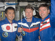 ISS018-E-046317 -- Expedition 19 crew